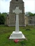 Image for Memorial Celtic Cross - St Ethelbert - Hessett, Suffolk