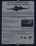 Image for Sawfish Sign - Port Charlotte, Florida, USA