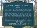 Image for Patton Chapel Church 1866 - Hoover, AL