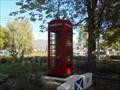 Image for Red Telephone Box, La Ville aux Dames, Centre, France