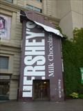 Image for Giant Hershey Bar and Hershey Kiss - Niagara Falls, ON, Canada