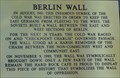 Image for Berlin Wall - Orlando, Florida, USA.