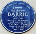Image for Sir James Matthew Barrie - Bernard Street, London, UK
