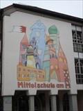 Image for Wandbild an der Mittelschule am Turm in Neustadt (Aisch)/ BY/ GER