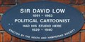 Image for Sir David Low - Heath Street, Hampstead, London, UK