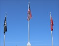 Image for Veteran's Memorial Obelisk POW/MIA Flag -- Calhoun County Courthouse grounds, Hampton AR