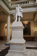 Image for Benjamin Harvey Hill -- GA State Capitol, Ground Floor, Atlanta GA