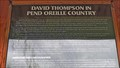 Image for David Thompson In Pend Oreille Country - Old Town, ID