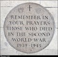 Image for The memorial to WWII victims in the Temple Church - Inner Temple (London)