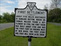 Image for First Settlement