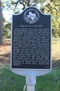 Image for Magnolia Cemetery