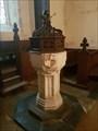 Image for Baptism Font - St Clement - Knowlton, Kent