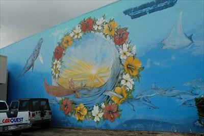 Hawaiian mural waimanalo hawaii murals on for Waimanalo feed supply