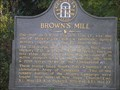 Image for Brown's Mill , GHM 110-28A , Paulding County