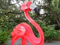 Image for Pink Flamingo - Museum of Whimsy - Sarasota, Florida, USA.