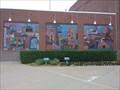 Image for Bricktown Ballpark mosaics, Oklahoma City, Oklahoma USA