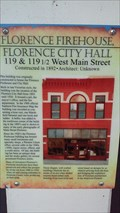 Image for Florence Firehouse, Florence City Hall - Florence,CO