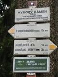 Image for Elevation Sign - Vysoky Kamen.738m