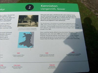Kennixton farmhouse Gower to Welsh Folk Museum Cardiff