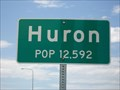 Image for Huron, South Dakota ~ Population 12,592