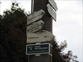 Image for Direction and Distance Arrow - Olšany, Czech Republic