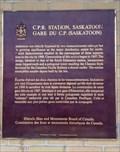 Image for CNHS C.P.R. Station, Saskatoon/ Gare du C.P. (Saskatoon)