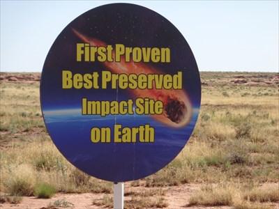 Meteor Crater - Satellite Oddity - Arizona, USA.