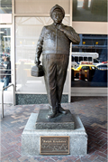Image for Ralph Kramden Statue - New York City, NY