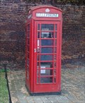 Image for Red Phone Box, Hampton Court Palace (outside), Surrey, UK