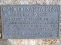 Image for Rancho Santa Rosa Adobe marker