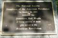 Image for American Revolution Plaque - Arlington National Cemetery - Arlington, VA