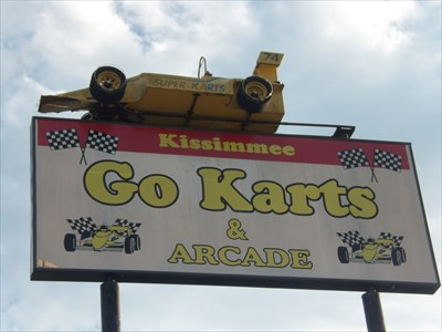 Go-Cart , Kissimmee, Florida.