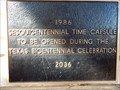 Image for A Time Capsule for the Texas Bicentennial - New Braunfels, TX USA