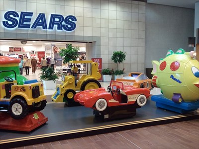 Fashion Place Mall Childrens Rides Coin Operated Childrens Rides