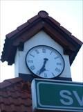 Image for Hodiny na autobusové zastávce - Svetví, okres Ceské Budejovice, CZ