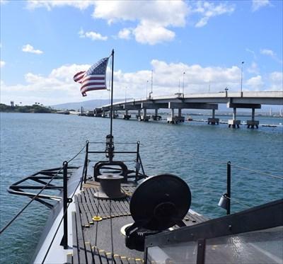 USS Swordish Submarine - Disaster Memorial - Pearl Harbor