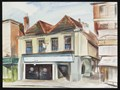 "Image for ""An old shop in St Albans"" by Malvina Cheek – Market Place, St Albans, Herts, UK"