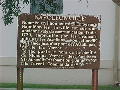 """napoleonville dating Louisiana immediately  hammond, plus the assumption parish library, napoleonville, displayed """"lincoln:  pages taken from newspapers dating back to the."""