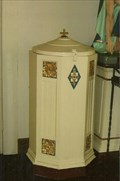 Image for Baptismisal Font - Assumption of the Blessed Virgin Mary Church - Cedron, MO