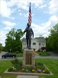 Image for The Doughboy Moument with Honor Roll - Hopkinton, MA.