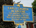 Image for Early Church in Greene - Greene, NY