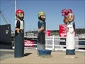 Image for Scallop Fishermen Bollards - Geelong Waterfront, Victoria, AU