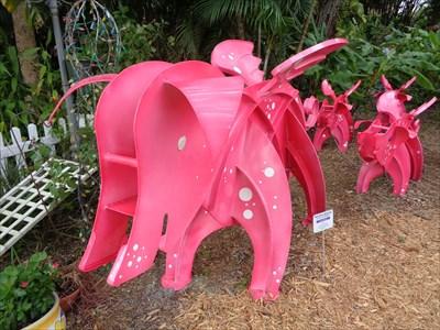 Flying Pigs - Kinetic Art - Sarasota,