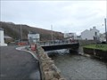 Image for Bus plunges through collapsed bridge - Laxey, Isle of Man