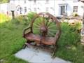 Image for Wheel Chair, Church Yard, Llangurig, Powys, Wales, UK