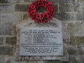 Image for Great War Memorials - St George's Church, Langton Matravers, Dorset, UK