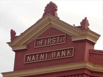 1907 - First National Bank, Erick, OK.