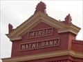 Image for First National Bank - Route 66, Erick, Oklahoma, USA.