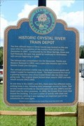 Image for Historic Crystal River Train Depot