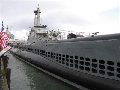 Submarine uss pampanito san francisco ca official - San francisco tourist information office ...